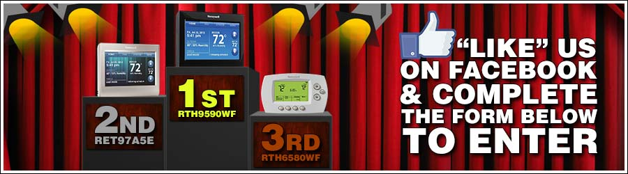 Honeywell wifi thermostats give away, contest, sweepstakes