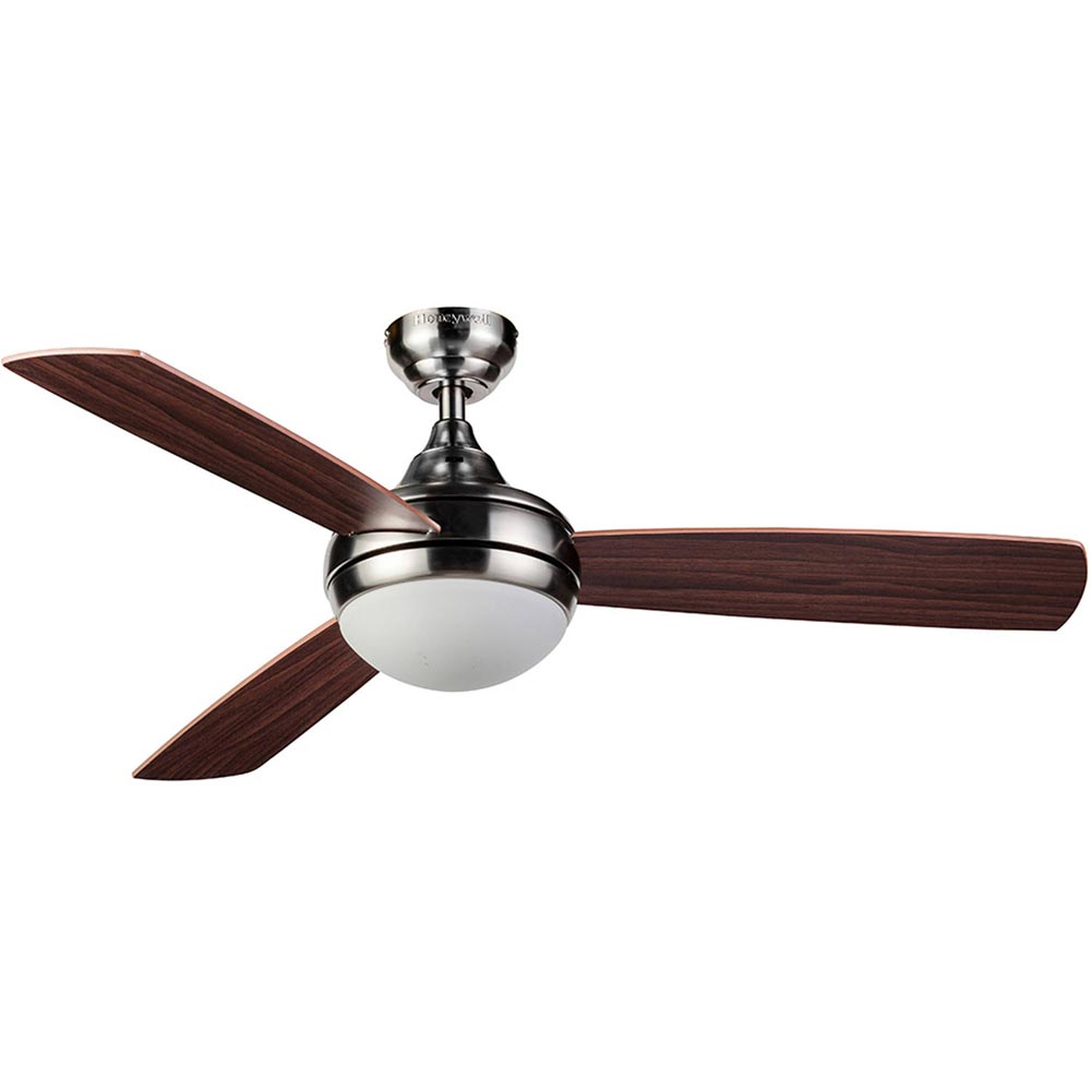 Honeywell bellecrest ceiling fan with remote satin nickel 48 inch honeywell bellecrest ceiling fan with remote satin nickel 48 inch 10285 aloadofball Images
