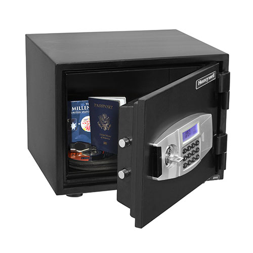Honeywell 2111 Water Resistant Steel Fire and Security Safe (.50 cu ft.)