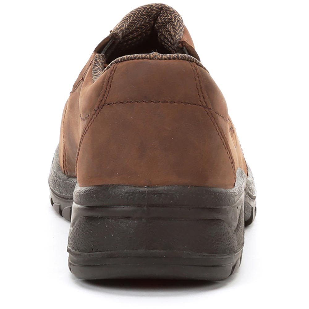 Oliver Women's 3 In 49 Series Steel Toe Shoes, Brown - 49431