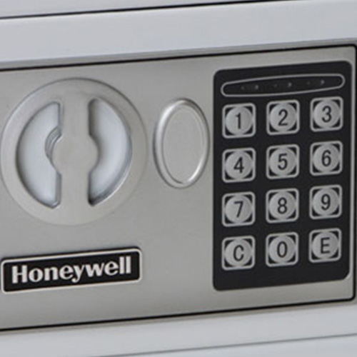 Honeywell 5005W Digital Steel Compact Security Safe (.19 cu ft.) - White