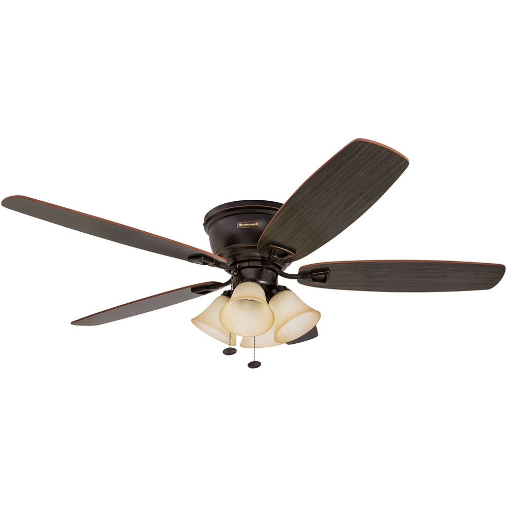 14 Ceiling Fans That Don T Look Terrible: Honeywell Glen Alden Ceiling Fan, Oil Rubbed Bronze Finish