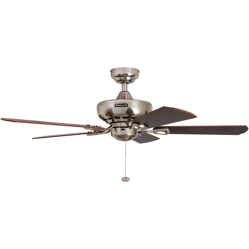 Honeywell Springhill Ceiling Fan Brushed Nickel Finish 44 Inch 50184 Honeywell Store