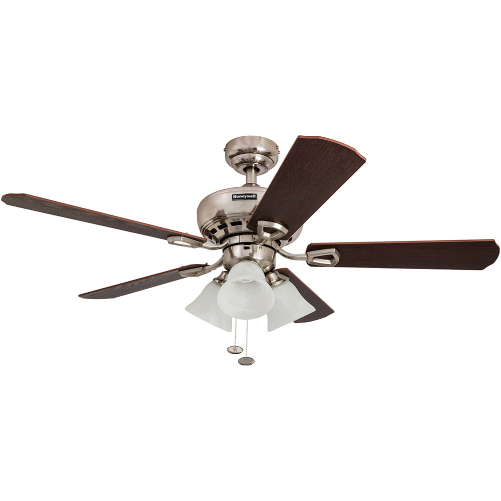 Honeywell springhill ceiling fan brushed nickel finish 44 inch honeywell springhill ceiling fan brushed nickel finish 44 inch 50184 aloadofball Image collections