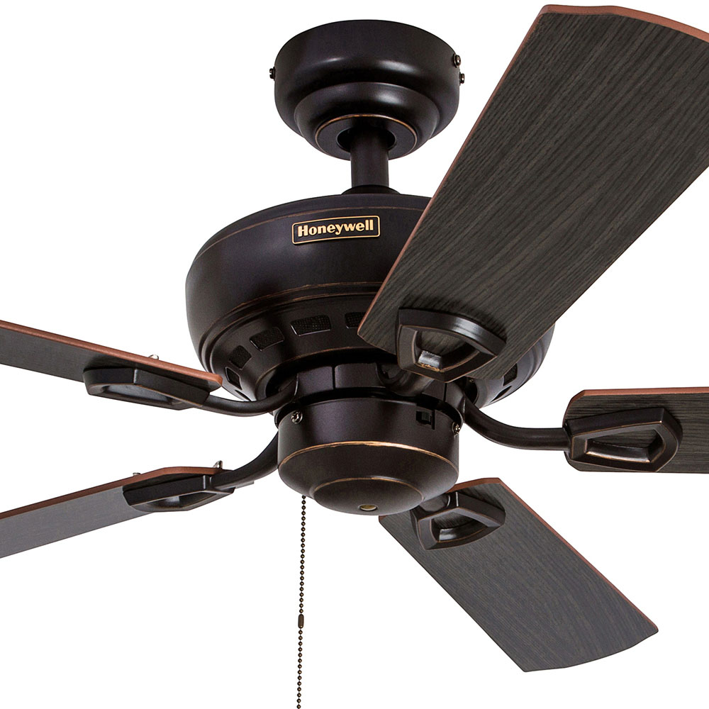 Honeywell springhill ceiling fan oil rubbed bronze finish 44 inch honeywell springhill ceiling fan oil rubbed bronze finish 44 inch 50185 aloadofball Image collections