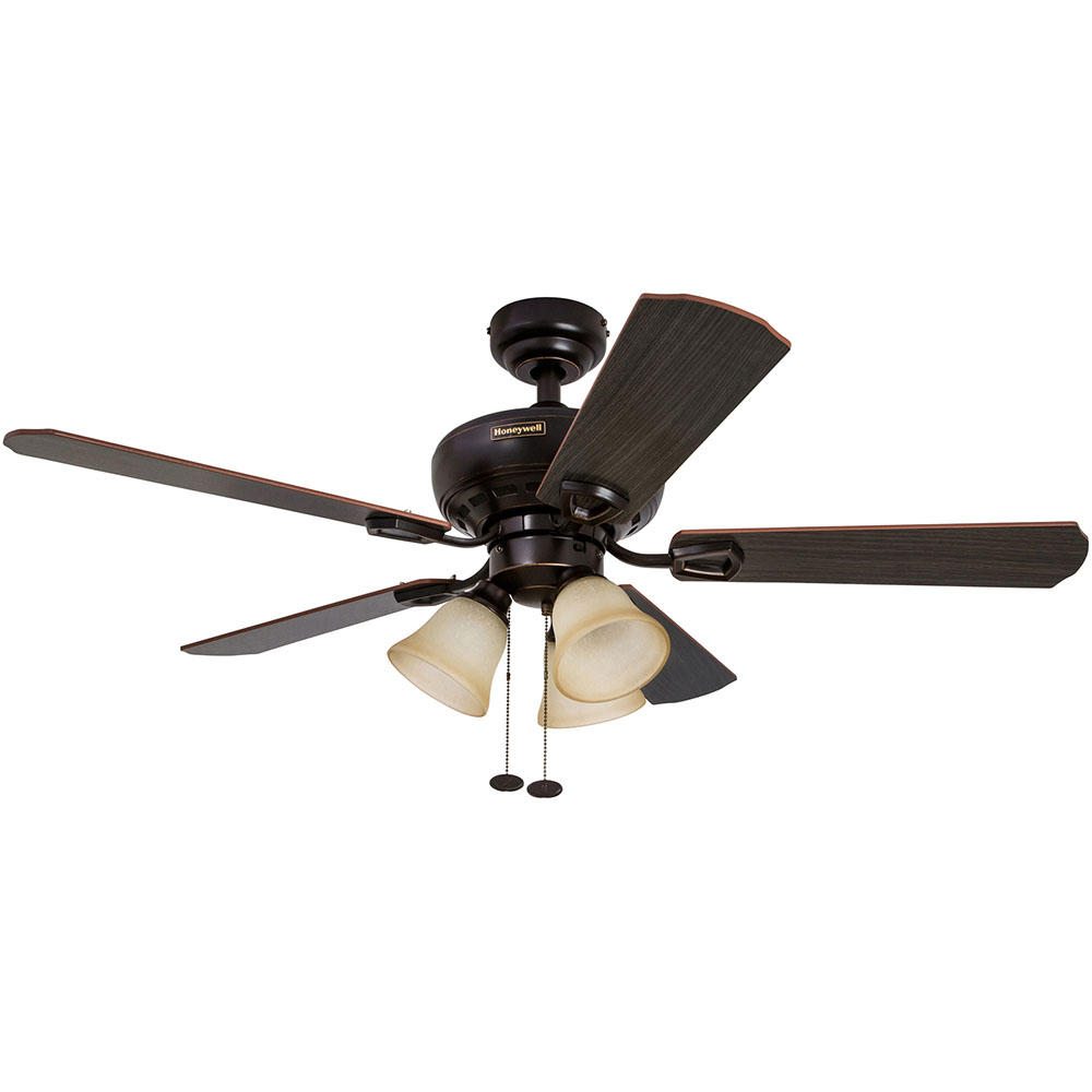 honeywell springhill ceiling fan oil rubbed bronze finish 44 inch