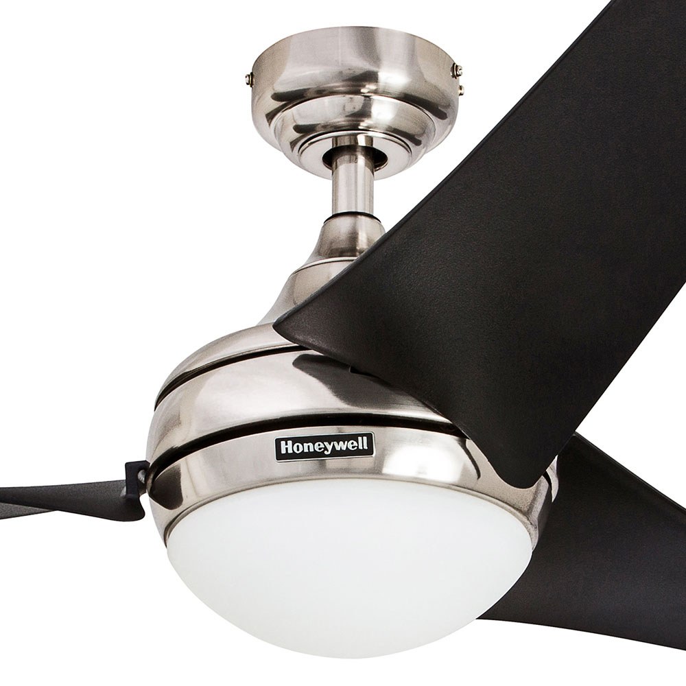 Honeywell rio ceiling fan brushed nickel finish 54 inch 50195 honeywell rio ceiling fan brushed nickel finish 54 inch 50195 aloadofball Choice Image