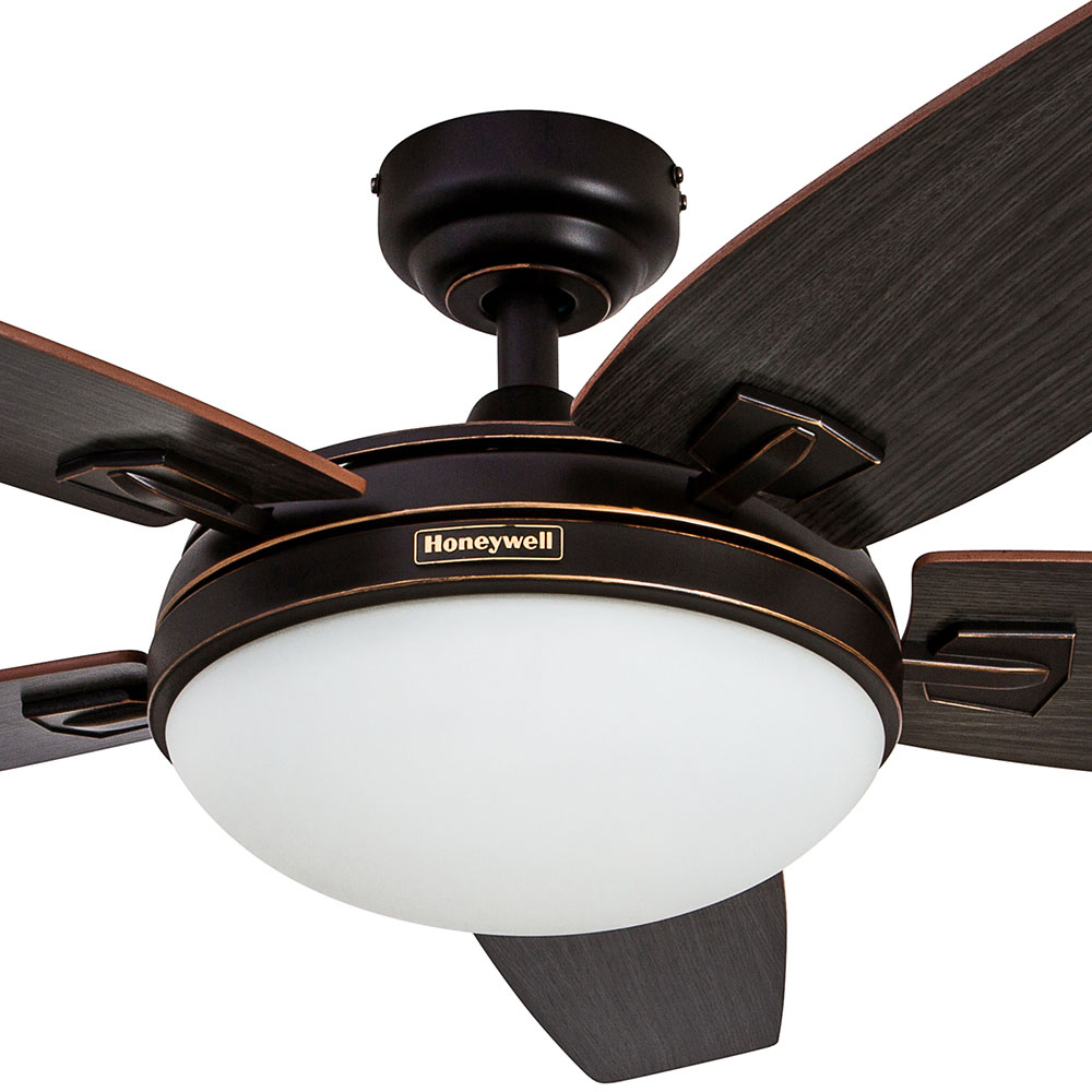 honeywell carmel ceiling fan oil rubbed bronze finish 48 inch