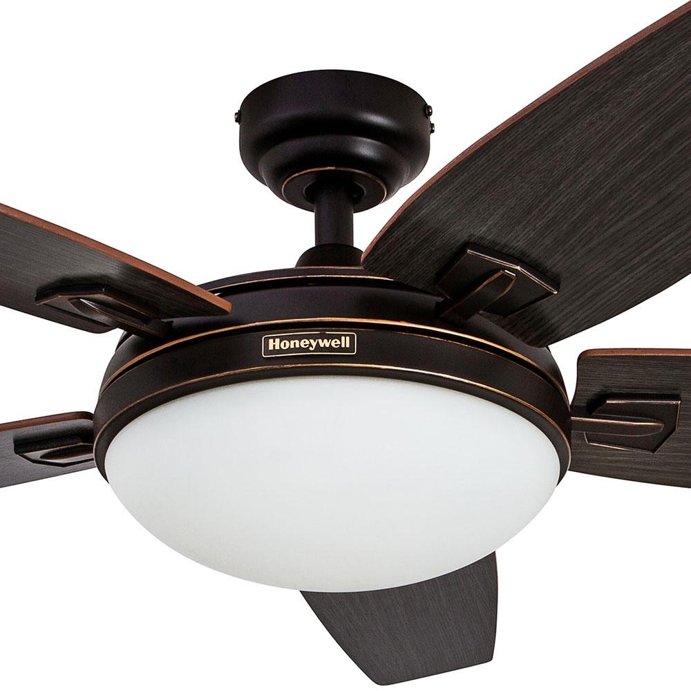 Honeywell Carmel Ceiling Fan Oil Rubbed Bronze Finish 48 Inch 50197 Honeywell Store