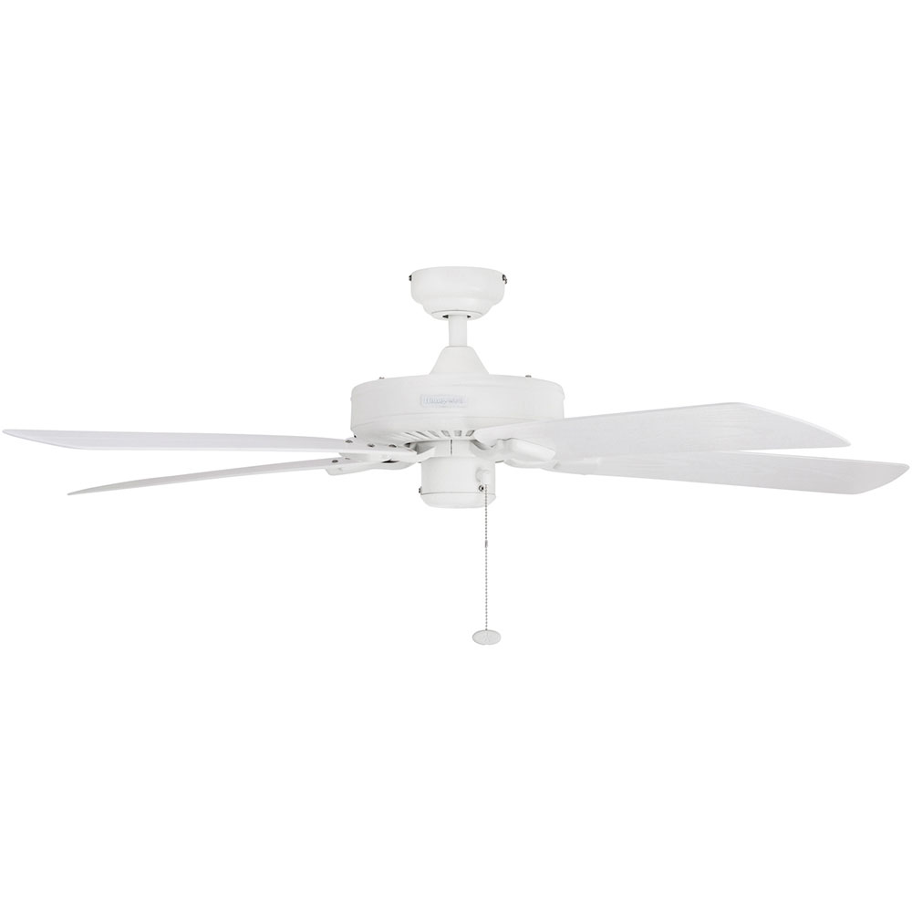 Honeywell Belmar Outdoor Ceiling Fan, White Finish, 52 Inch - 50198