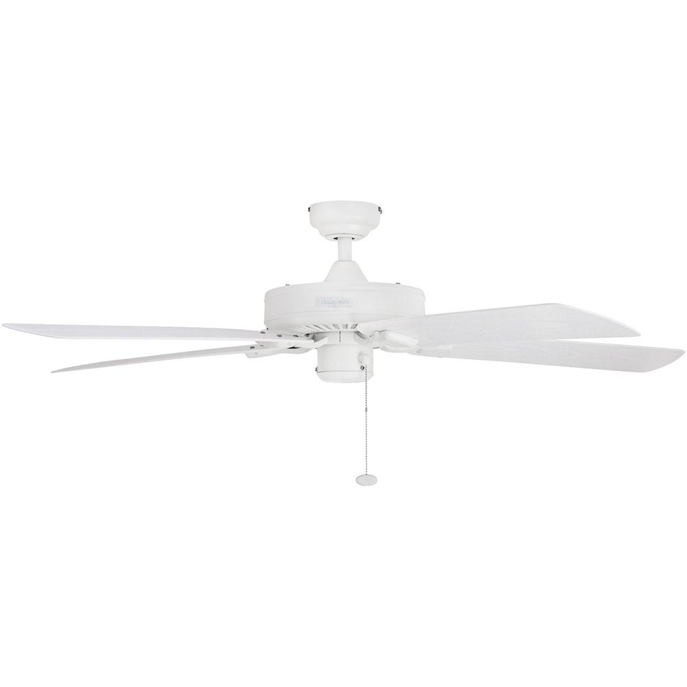Honeywell Belmar Outdoor Ceiling Fan, White Finish, 52