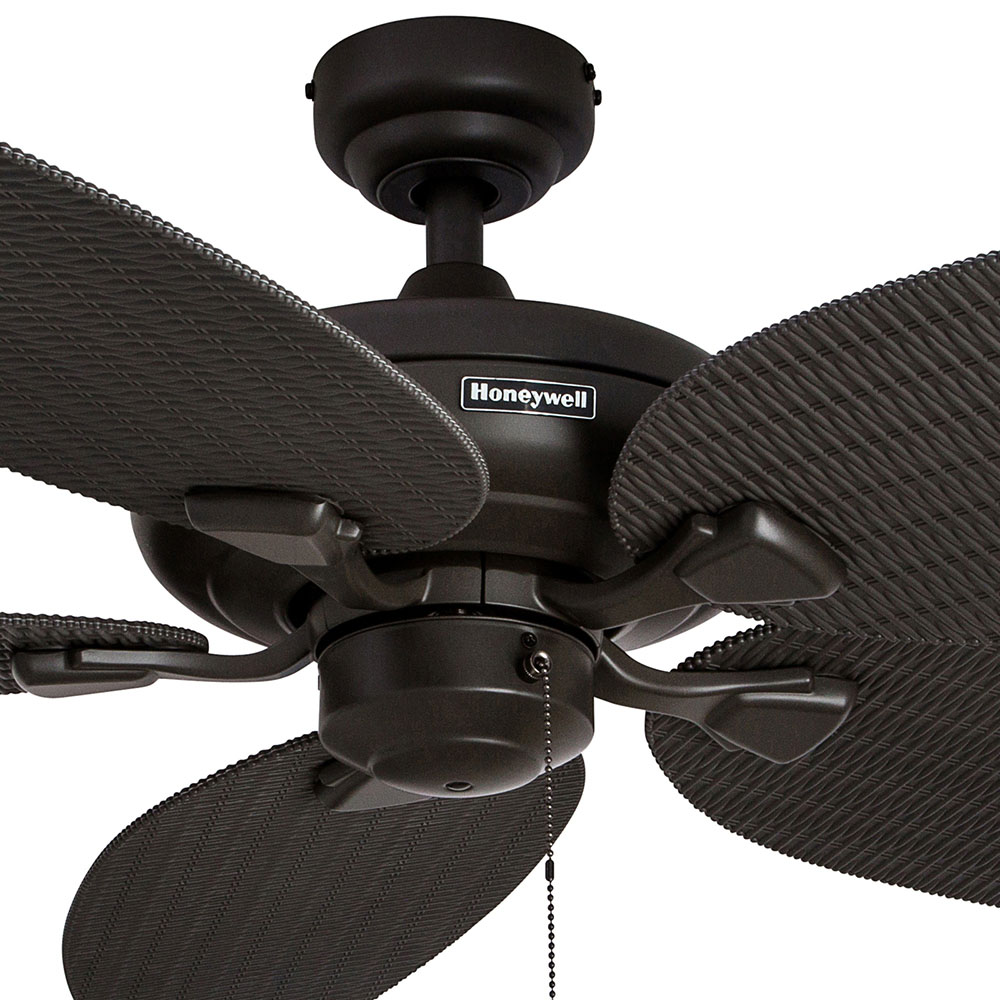 Honeywell Duvall Ceiling Fan, Bronze Finish, 52 Inch - 50201