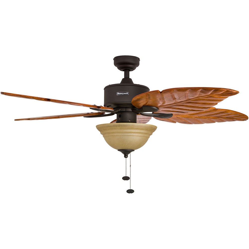 Honeywell Sabal Palm Ceiling Fan Bronze Finish 52 Inch 50204