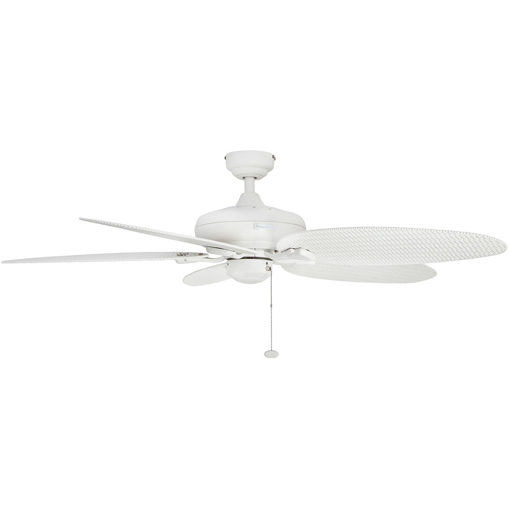Honeywell Duvall Ceiling Fan, White Finish, 52 Inch - 50206