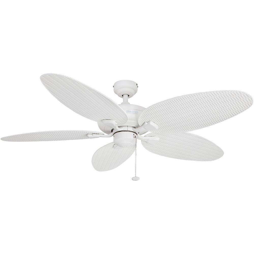 Honeywell Duvall Ceiling Fan, White Finish, 52 Inch - 50206 ...