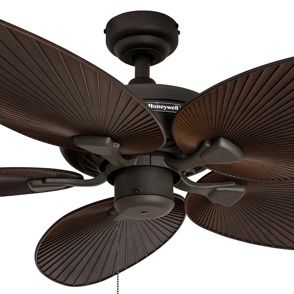 Honeywell palm island ceiling fan bronze finish 52 inch 50207 honeywell palm island ceiling fan bronze finish 52 inch 50207 aloadofball Images