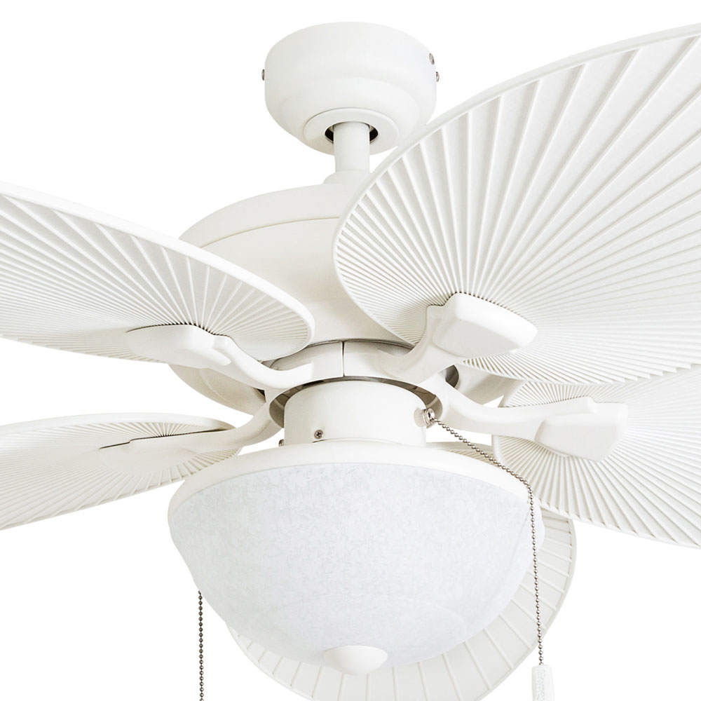 Honeywell Inland Breeze Ceiling Fan White Finish 52 Inch