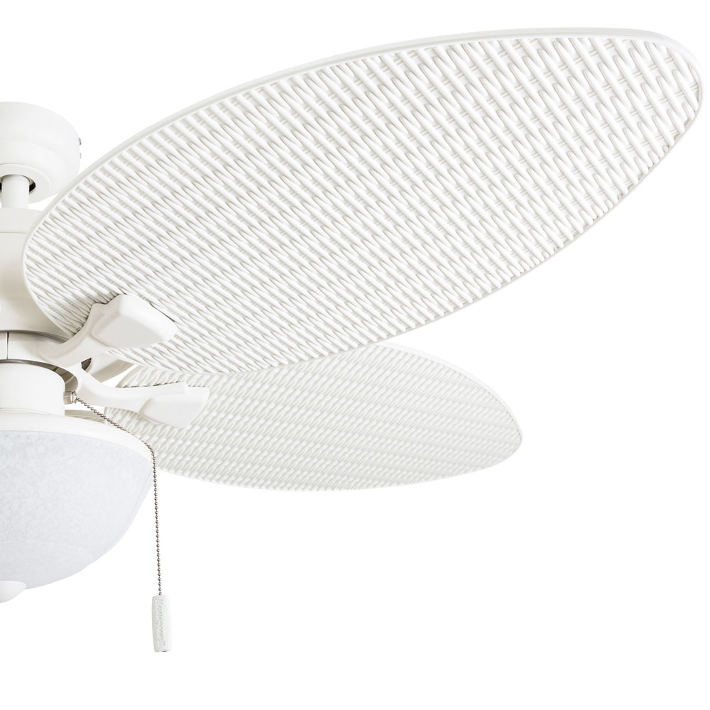 Expensive Ceiling Fan Plastic White: Honeywell Inland Breeze Ceiling Fan, White Finish, 52 Inch