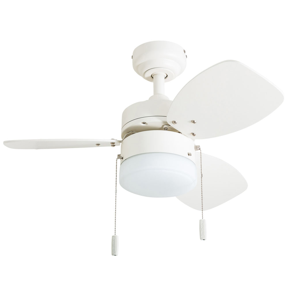 Honeywell Ocean Breeze Ceiling Fan White Finish 30 Inch