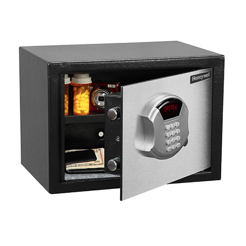 Honeywell 5112DOJ DOJ Approved Steel Security Safe (.50 cu ft.)