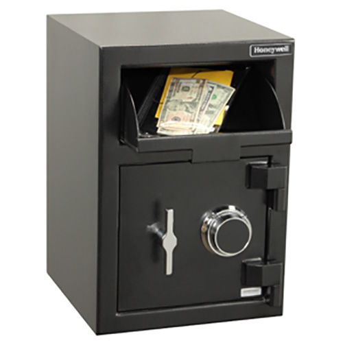 Honeywell 5911 Steel Depository Security Safe, (1.06 cu ft.)