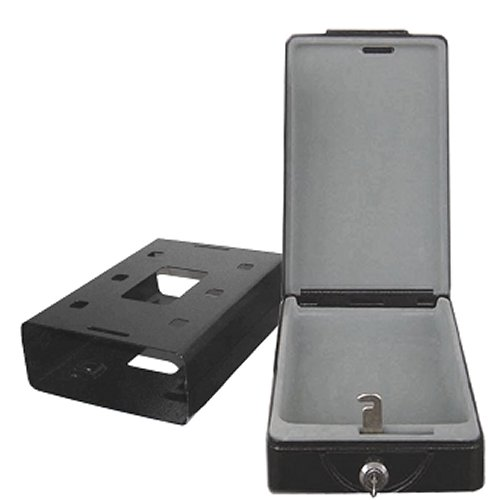 Honeywell 6114 Steel Car Security Safe with removable key