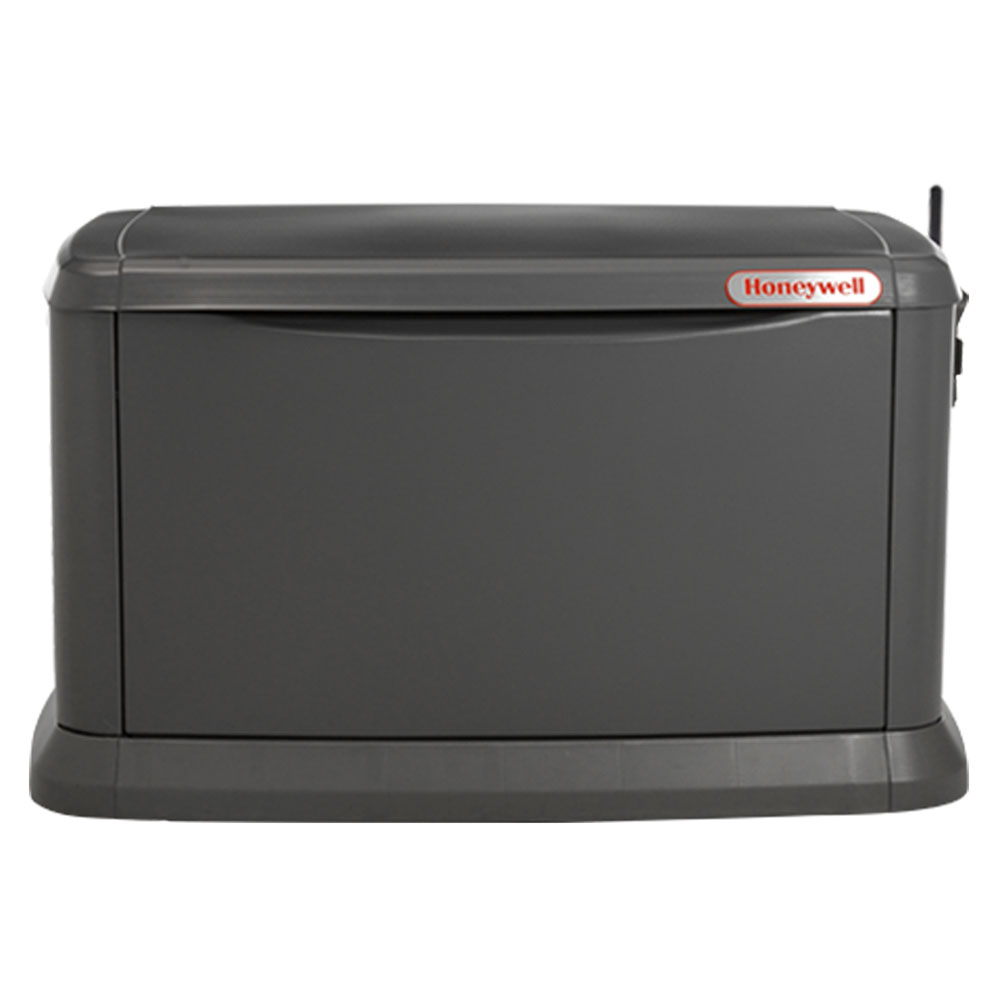 Honeywell 6442 11/10 kW Air-Cooled Standby Generator, Aluminum Enclosure, w/Mobile Link