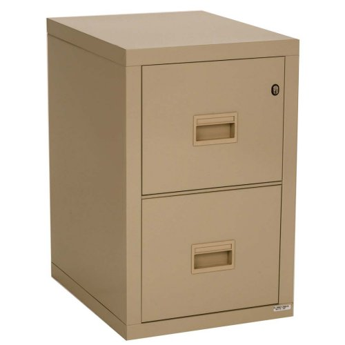 Merveilleux Honeywell 7222 Letter/Legal Locking 2 Drawer Vertical File Cabinet