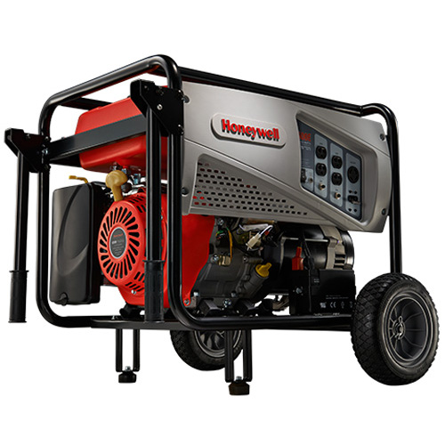 Honeywell 7,500 Watt 420cc OHV Portable Gas Powered Generator with Electric Start & Maintenance Kit