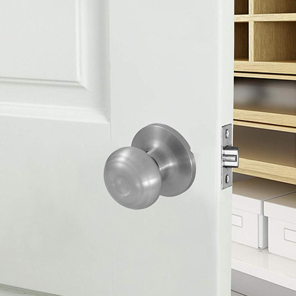 Honeywell Classic Passage Door Knob, Satin Nickel, 8101303
