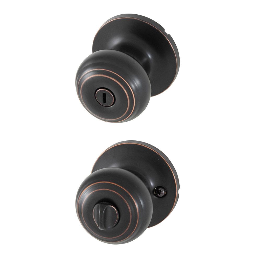 Honeywell Clic Privacy Door Oil Rubbed Bronze 8101402