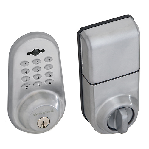 Honeywell Digital Door Lock And Deadbolt With Remote