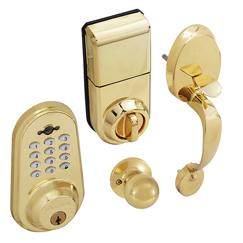 Honeywell Digital Door Knob Handleset With Remote 8632007