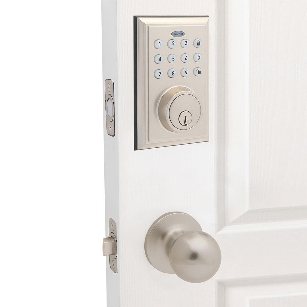 Honeywell Bluetooth Enabled Deadbolt Door Lock With Keypad