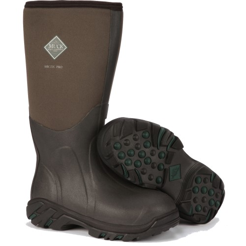 Muck Boot Arctic Pro Professional Extreme-Conditions Sport Boot, Tan, ACP-998K