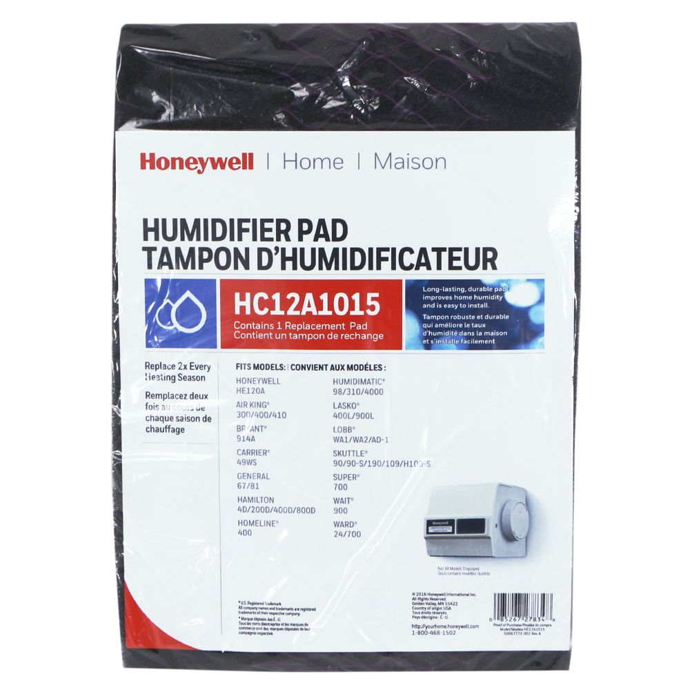 Honeywell HC12A1015/C Whole House Humidifier Pad