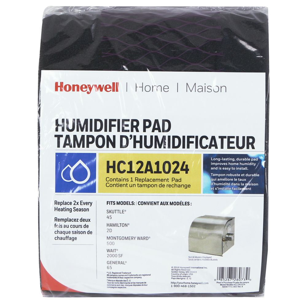 Honeywell HC12A1024/C Whole House Humidifier Pad