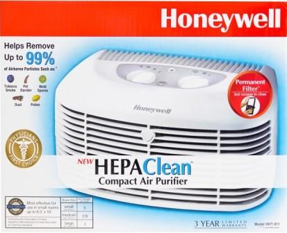 Honeywell HEPAClean Compact Air Purifier, HHT-011