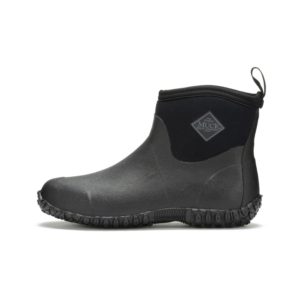 2a0eb2aa243 Muck Boots Muckster II Ankle High Waterproof Boot, Black, M2A-000