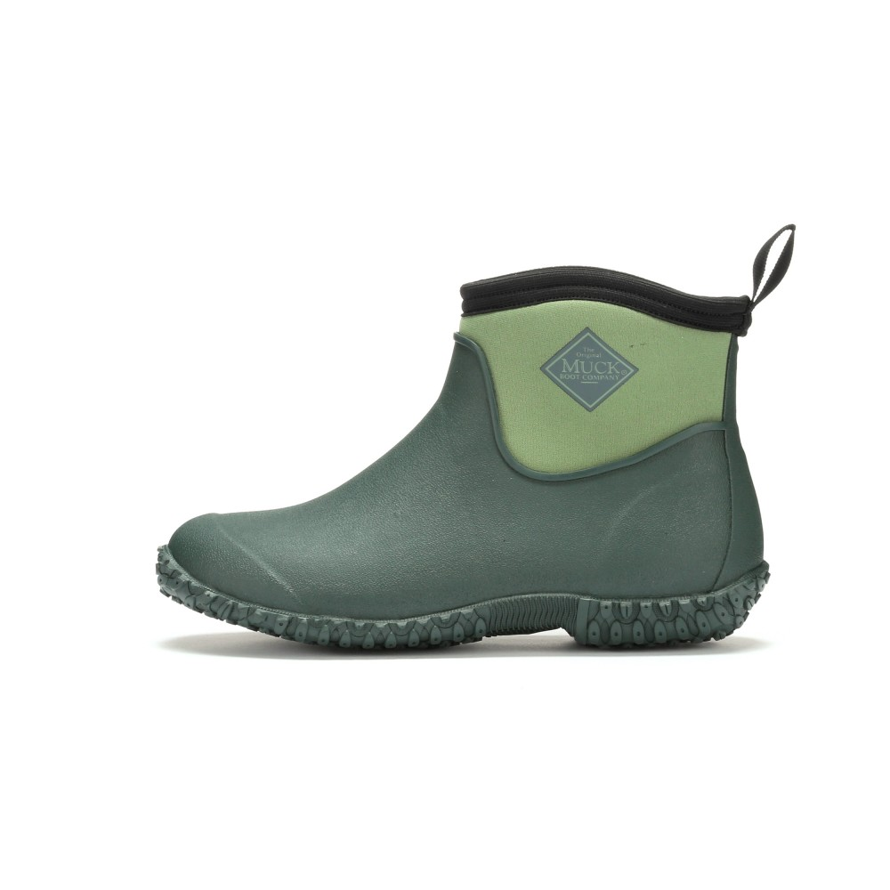 Muck Boots M2AW-300 Muckster II Ankle High Waterproof Boot Green ...