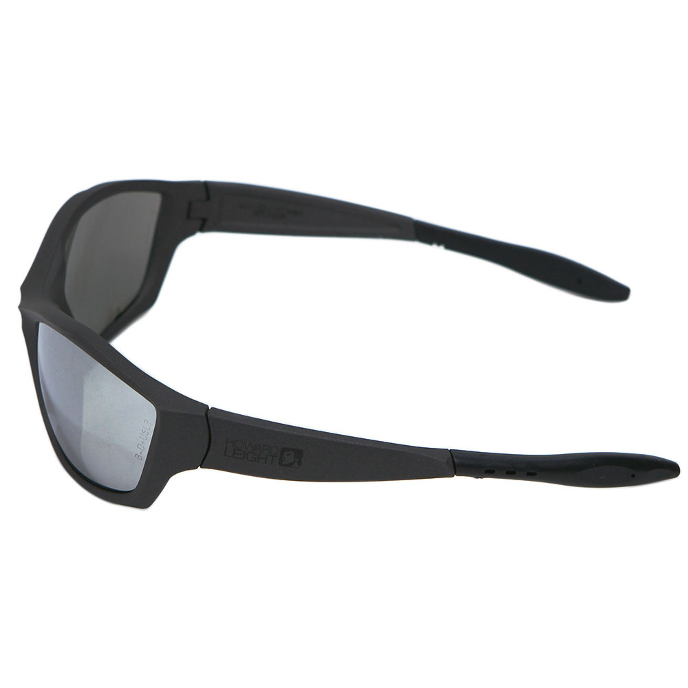 Howard Leight by Honeywell 1000 Series Shooter's Safety Eyewear, Gunmetal Frame, Silver Mirror Lens, Anti-Fog & Scratch-Resistant - R-01759