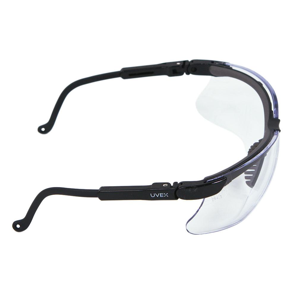 dc18ca73f23b Honeywell Genesis Shooter's Safety Eyewear, Black Frame, Clear Lens with  HydroShield Anti-Fog