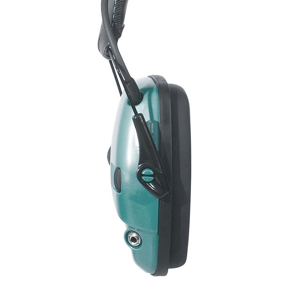Honeywell Impact Sport Sound Amplification Electronic Earmuff, Teal - R-02521