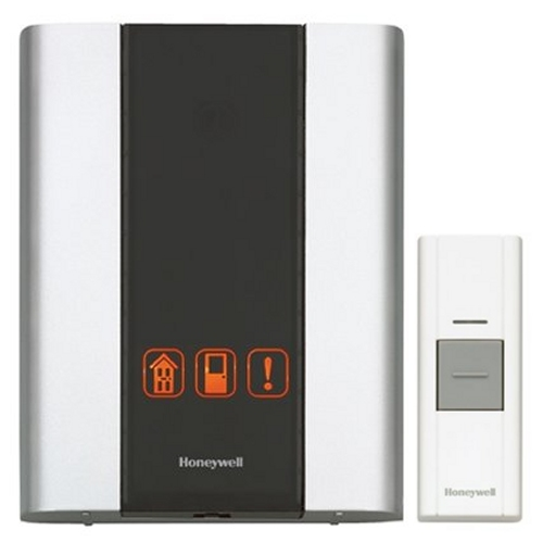 Honeywell Rcwl300a1006 N P3 Premium Portable Wireless Door Chime And Push On