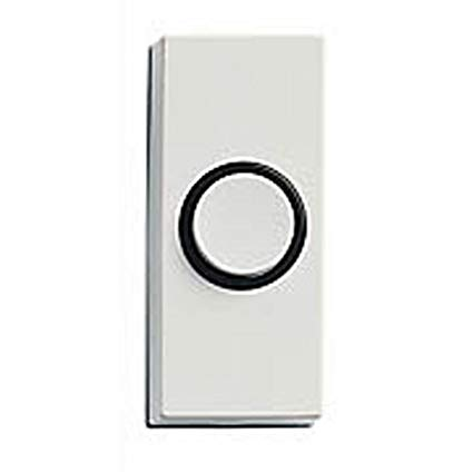 Honeywell RPW101A1003/A Wired Surface Mount Push Button for Door Chime