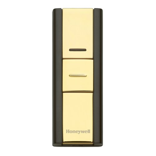 Honeywell RPWL302A1005/A Decor Wireless Surface Mount Push Button for Door Chime