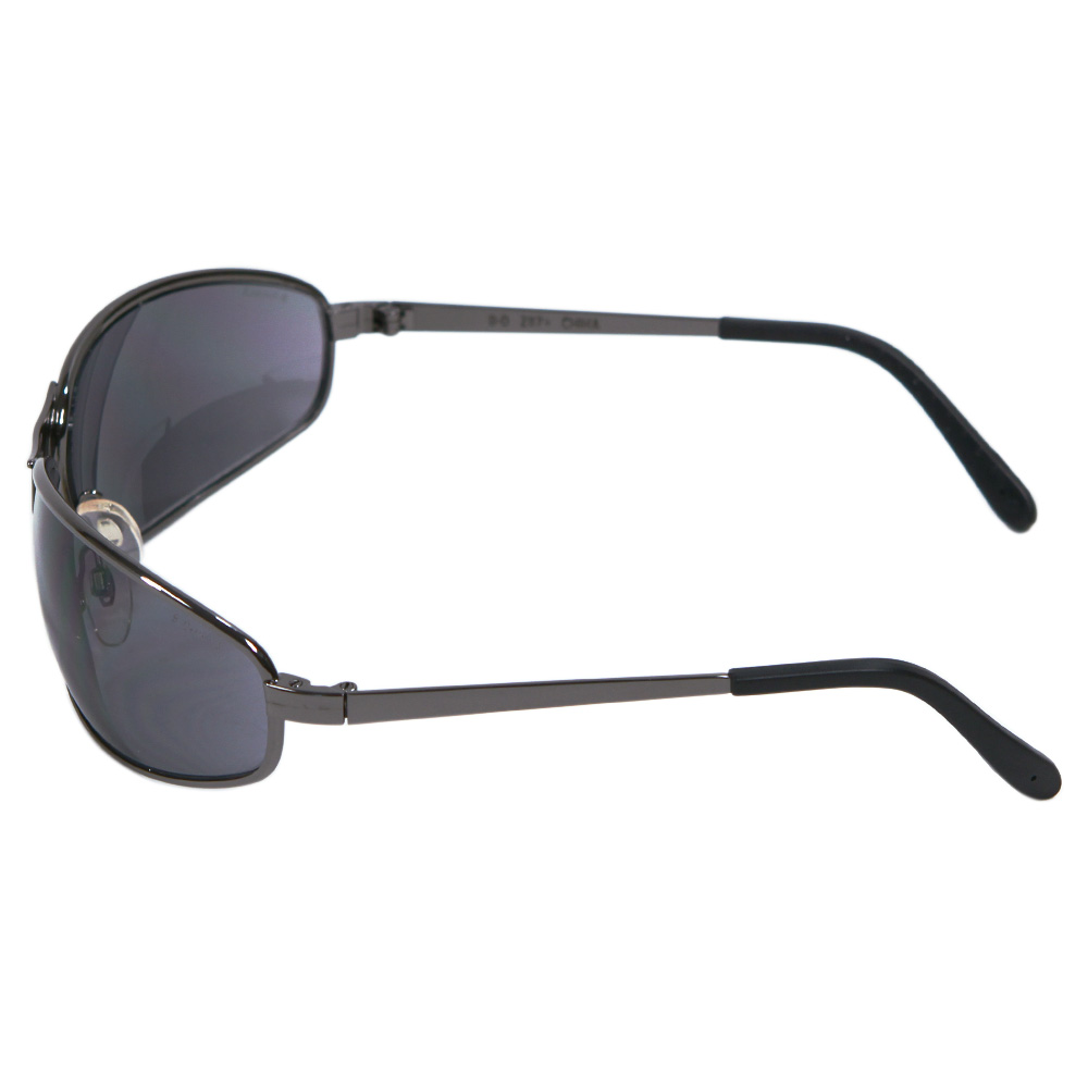 Honeywell Tomcat Safety Eyewear with Metal Frame, Gray Lens, Scratch-Resistant Hardcoat Lens Coating - RWS-51016