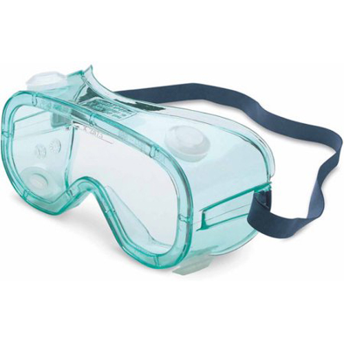 Honeywell A600 Splash/Impact Goggle, OTG (Over-The-Glass) styling, Clear Frame, Clear Lens, Scratch-Resistant Hardcoat Lens Coating - RWS-51028