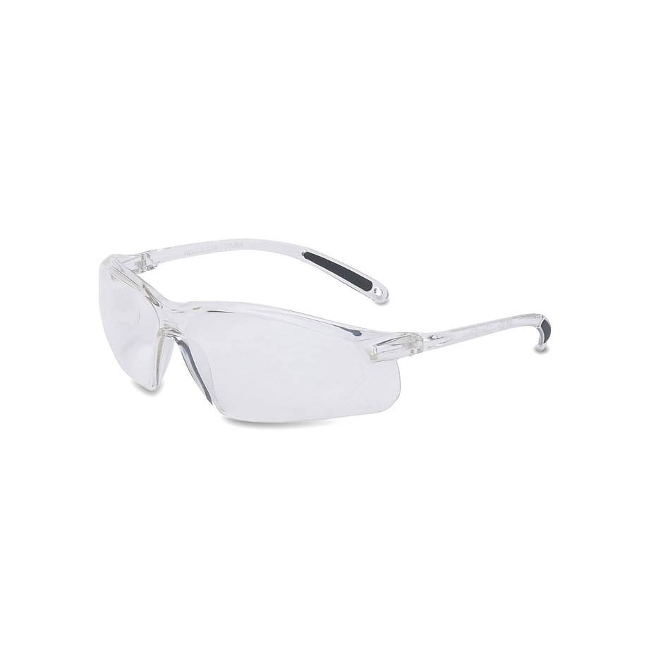 Honeywell A700 Safety Eyewear, Clear Frame, Clear Lens, Scratch-Resistant Hardcoat Lens Coating - RWS-51033