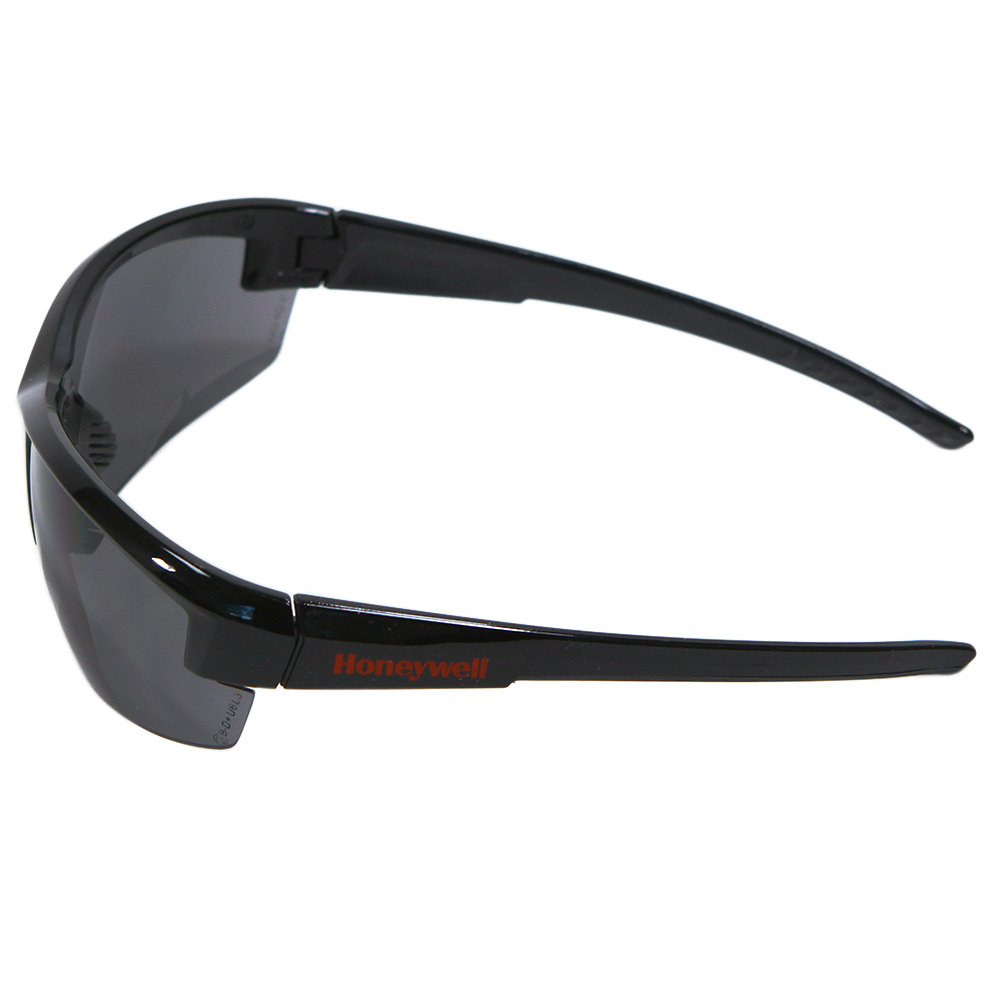 Honeywell Mercury Safety Eyewear with Black Frame, Gray Lens, Anti-Fog Lens Coating - RWS-51053